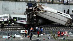Машиниста поезда, разбившегося в Испании, вызывают в суд