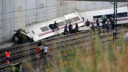 На участке пути, где разбился поезд в Испании, нет ограничителей скорости
