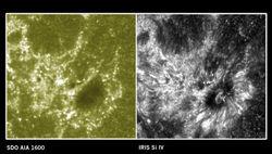 Выведенный на орбиту космотелескоп IRIS прислал первые снимки Солнца