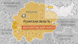 В Рязанской области произошло столкновение поезда с грузовиком