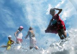 Природная аномалия: температура воды в Черном море ниже обычной