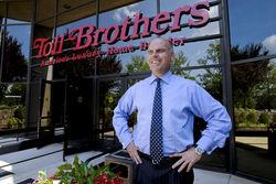 Показатель чистой квартальной прибыли Toll Brothers зафиксировала на уровне 4,4 млн. долларов