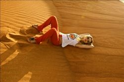 Лобода на отдыхе в Эмиратах