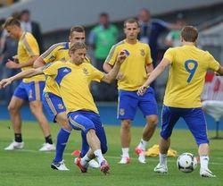 Украинская сборная провела в Донецке открытую тренировку
