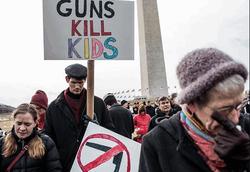 Твиттер и Фейсбук против оружия