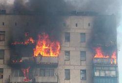 При пожаре пятиэтажного дома на Закарпатье погибли дети