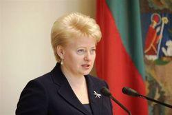 Как прокомментировала Президент Литвы данные последней переписи населения?