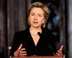 К каким действиям Хилари Клинтон призывает Беларусь?