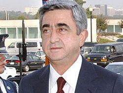 Саргсян станет первым пассажиром рейса в Карабах