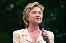 Что заявила Х. Клинтон в Вильнюсе?