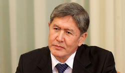 Как оценил А. Атамбаев результаты выборов?