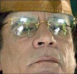 Муаммар Каддафи не пришел на похороны своего сына и внуков