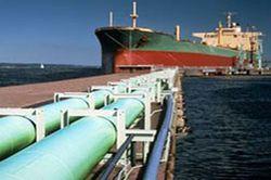 танкер в Клайпедском порту