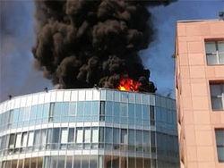 Следствие назвало причину пожара в бизнес-центре в Москве