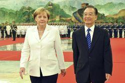 Ангела Меркель обсуждает возможности сотрудничества с Китаем