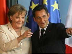 Меркель и Саркози стали героями юмористического ролика