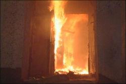 Многодетная мать спасла малолетних детей из пожара