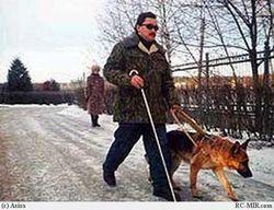 слепые люди
