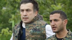 Саакашвили на время стал «спецназовцем»