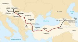 Азербайджан намерен поставлять свой газ через Nabucco
