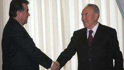 Эмомали Рахмон и Нурсултан Назарбаев