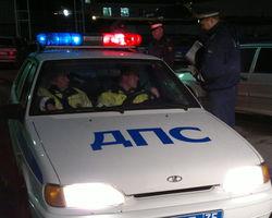 В Москве участником аварии стал патрульный автомобиль