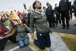 Полиция жестоко разогнала демонстрацию в Каире