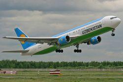Сколько авиапассажиров перевезено в Узбекистане?