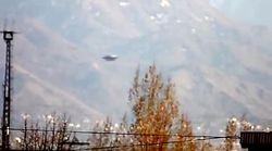 Очевидец из Алматы снял на камеру НЛО