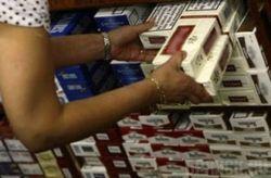 В Литве выявили склад контрабандных сигарет
