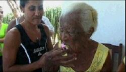 126-летие отметила жительница Кубы
