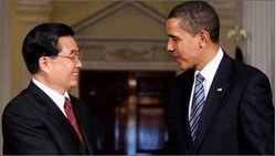 Ху Цзиньтао и Барак Обама