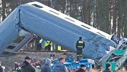 Авария поезда в Польше: всё говорит об исправности оборудования