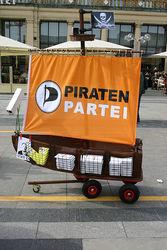 В Германии народ поддерживает пиратскую партию