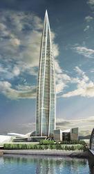 «Газпром» возведет в Северной столице 500-метровый небоскреб