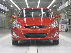 Hyundai представила хетчбек Solaris