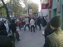 В Азербайджане футбольный матч закончился побоищем
