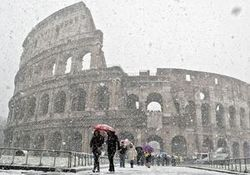 Украинка погибла в Италии из-за аномальных холодов
