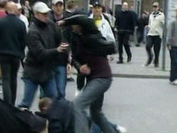 В ходе драки у клуба Б-2 были ранены 3 человека