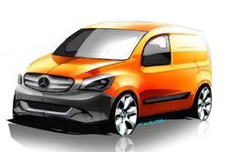Компания Mercedes планирует выпустить компактный фургон Citan