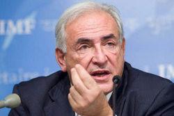 Стросс-Кан: Украину сможет спасти лишь МВФ