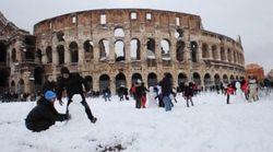 Девять жертв суровой зимы в Италии