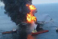 Авария на нефтеплатформе в Мексиканском заливе