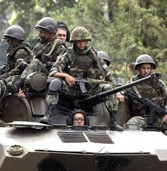 российские военнослужащие в Азербайджане