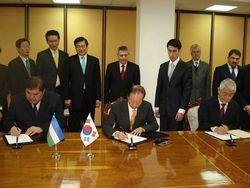Узбекистан и Южная Корея