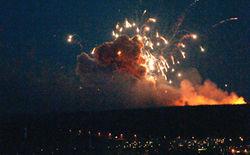 Убытки от пожара в Удмуртии оценили в $36 млн