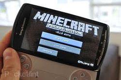 Minecraft завоевывает Android
