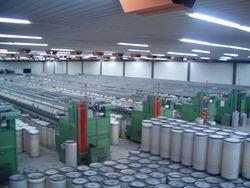 Президент открыл новую фабрику по производству пряжи