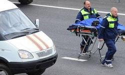 В Москве полицейский автомобиль сбил пенсионерку