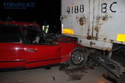 Украинские граждане попали в аварию в Беларуси